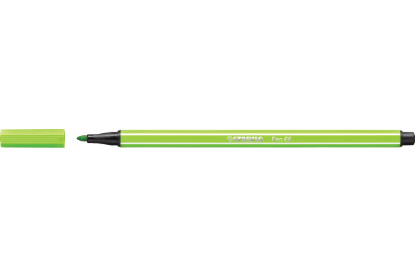 STABILO Fasermaler Pen 68 1mm 68/33 hellgrün