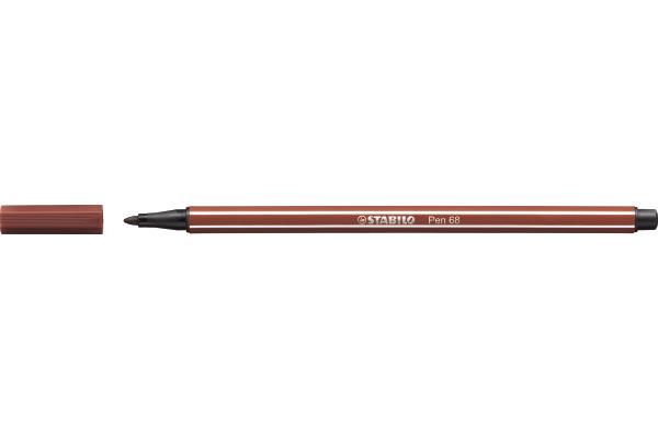STABILO Fasermaler Pen 68 1mm 68/38 rot