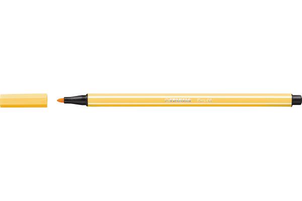 STABILO Fasermaler Pen 68 1mm 68/44 gelb