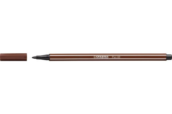STABILO Fasermaler Pen 68 1mm 68/45 braun