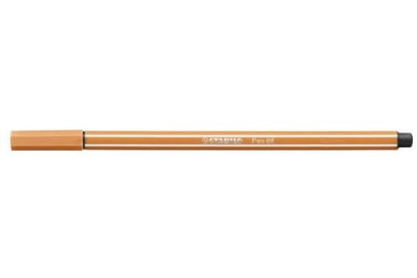 STABILO Fasermaler Pen 68 1mm 68 89 ocker dunkel