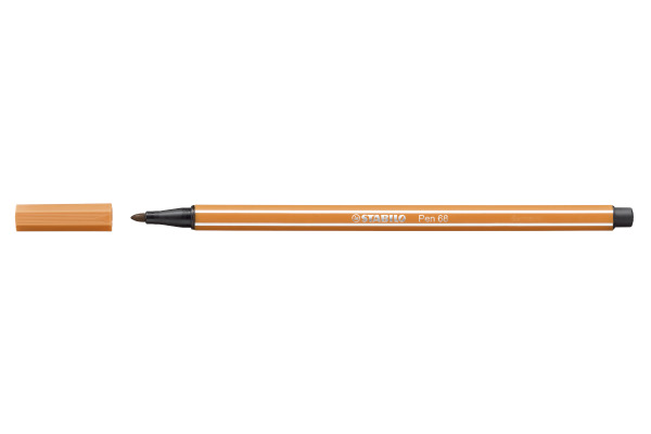STABILO Fasermaler Pen 68 1mm 68/89 ocker dunkel
