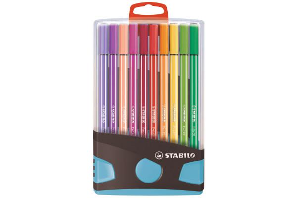 STABILO Fasermaler Pen 68 6820-031-04 20 Stück...