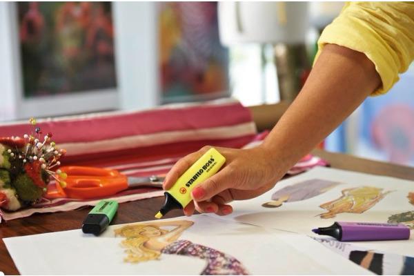 STABILO Boss Leuchtmarker Original 70 4 4 Farben assortiert