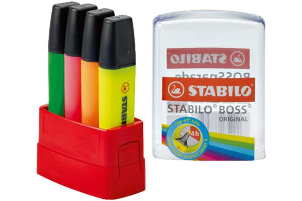 STABILO BOSS PARADE 7004 4 4 Farben assortiert