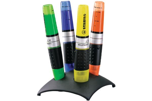 STABILO Tischset LUMINATOR 2?5mm 7104-2 4-farbig assortiert