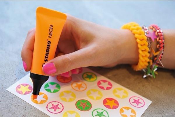 STABILO Textmarker Neon 2-5mm 72 54 orange