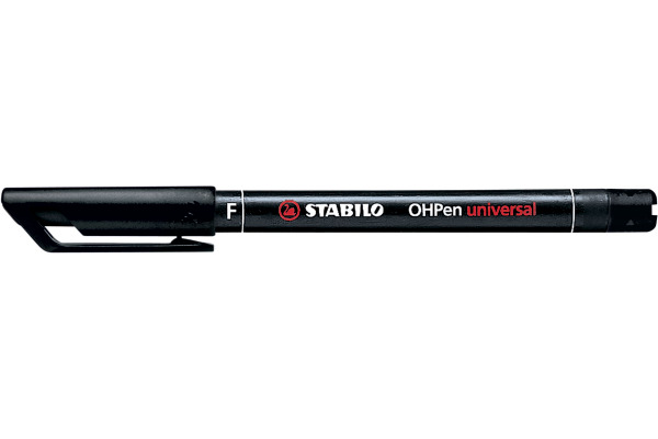 STABILO OHP Pen permanent F 842/46 schwarz