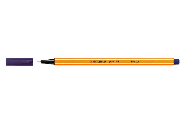 STABILO Faserschreiber Point 88 0,4mm 88/22 nachtblau