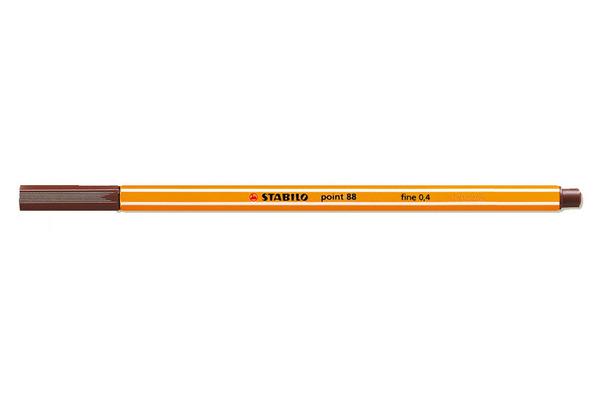 STABILO Feinschreiber point 88 0.4mm 88/45 braun