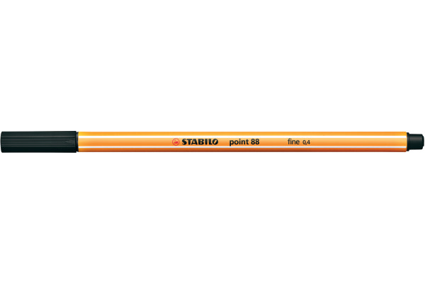 STABILO Feinschreiber point 88 0.4mm 88/46 schwarz