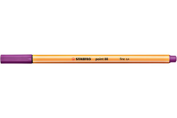 STABILO Feinschreiber point 88 0,4mm 88/58 lila