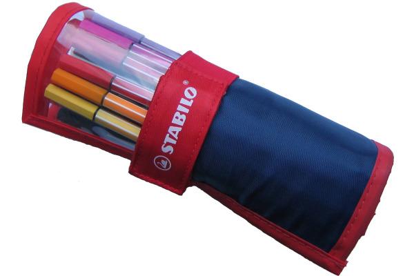 STABILO Fasermaler Pen 68 AG6825021 25er Rollerset