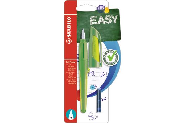 STABILO Füller EASYbuddy B-53924-5 grün