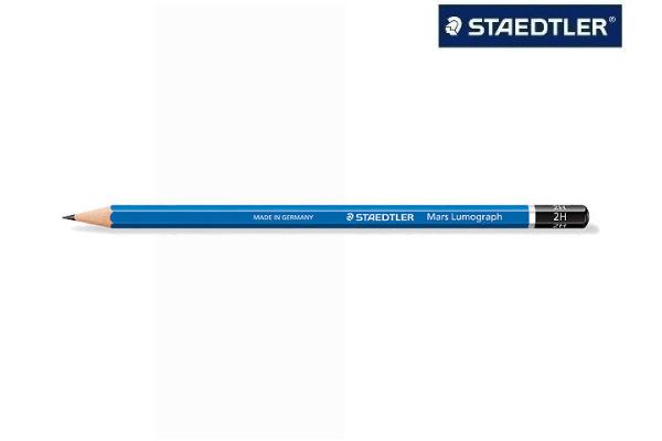 STAEDTLER Bleistift MARS HB 100-HB Lumograph 100