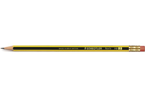 STAEDTLER Bleistift NORIS HB 122-HB mit G-Ttip