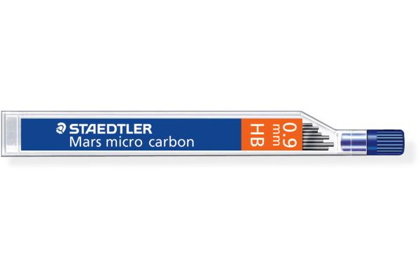 STAEDTLER Feinmine MARS MICRO HB 0,9mm 250 09-HB tiefschwarz 12 Stück