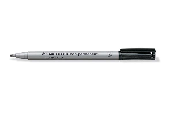 STAEDTLER Lumocolor non-permit B 312-9 schwarz