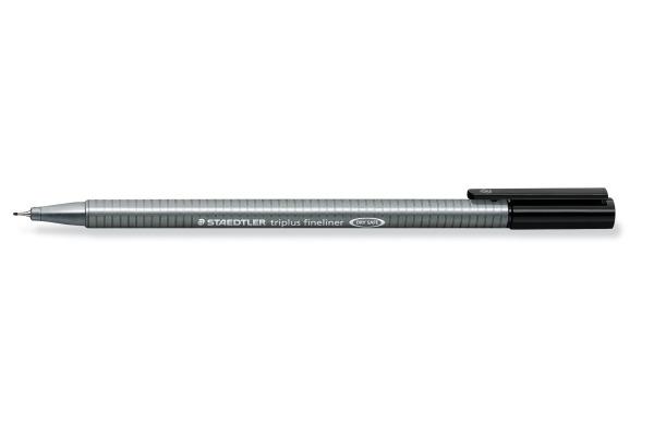 STAEDTLER Feinschreiben triplus 334 0,3mm 334-9 schwarz