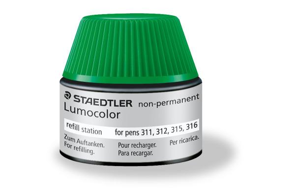 STAEDTLER Lumocolor non-perm. 48715-5 grün