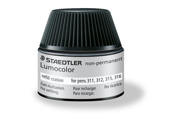 STAEDTLER Lumocolor non-perm. 48715-9 schwarz