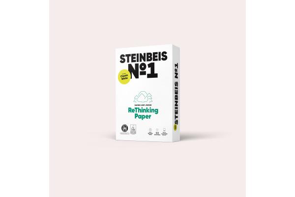 STEINBEIS Papier Classic White A4 88080024 80g, recycling 500 Blatt