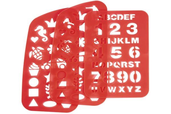 STEPBYSTaschen Schablonen 138573 für 2in1-Schulrucksack