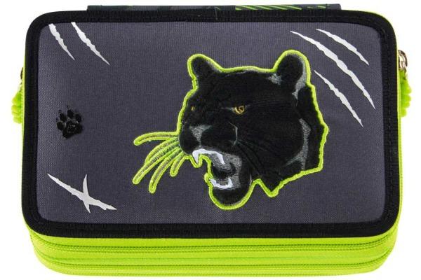 STEPBYST. XXL-Etui Flash 139202 Wild Cat, 3 Fächer