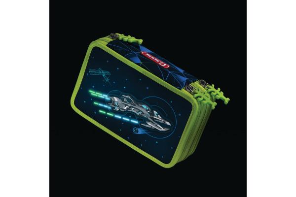 STEPBYST. XXL-Etui Flash 139203 Space Pirate, 3 Fächer