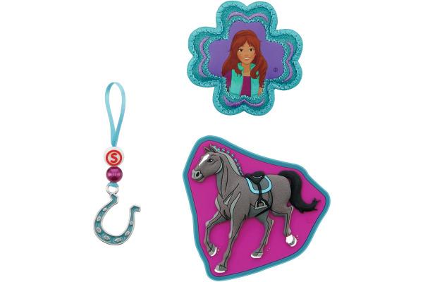 STEPBYST. Magic Mags Horse Club 139237 pink/grau/türkis 3-teilig