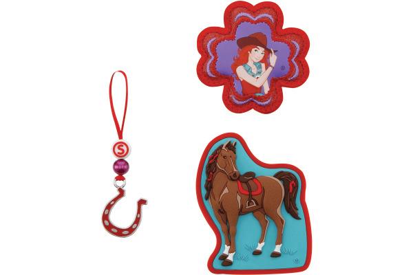 STEPBYST. Magic Mags Horse Club 139238 blau/braun/rot 3-teilig