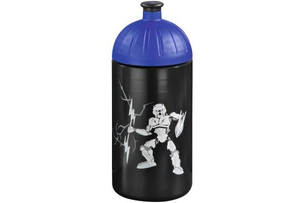 STEPBYST. Trinkflasche Strongly Robot 139248 schwarz