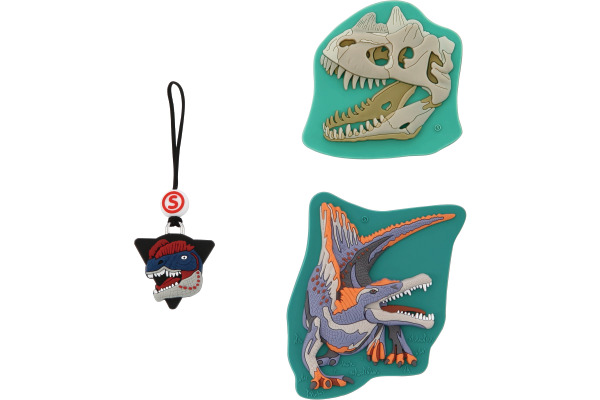 STEPBYST. Magic Mags Dinosaurs 139259 hellgr./weiss/orange /lila 3-t