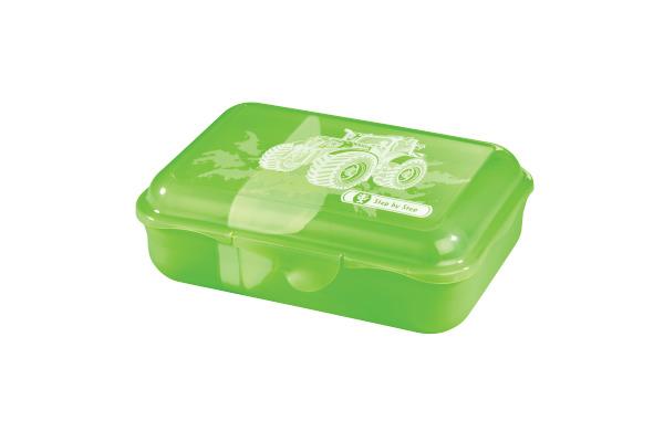 STEPBYST. Lunch Box 139279 Green Tractor, grün