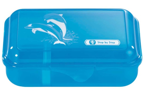 STEP BY STEP Lunch Box 139280 Happy Dolphins,...