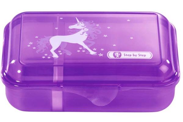 STEPBYST. Lunch Box 139288 Unicorn, Flieder