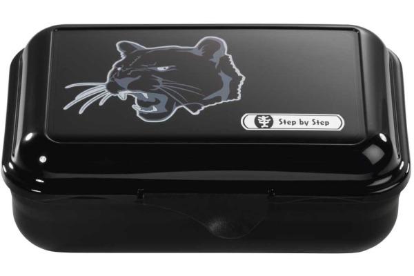 STEPBYST. Lunch Box 139289 Wild Cat, schwarz