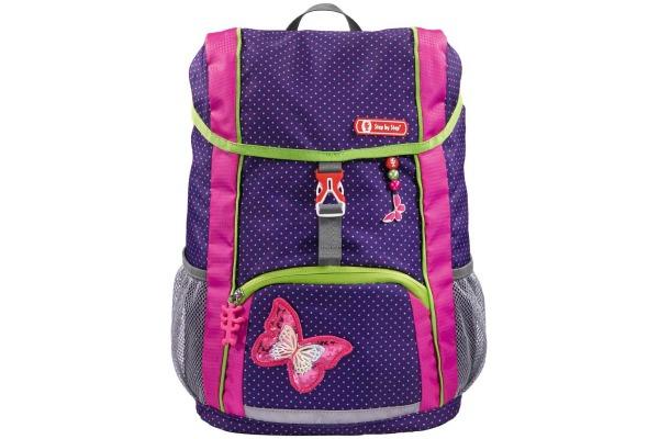 STEPBYST. KID Rucksack-Set Butterfly 183699 pink/lila 3-teilig