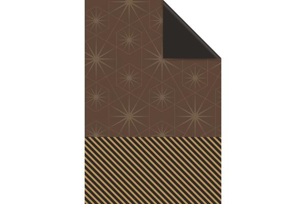 STEWO Geschenkpapier Duo Keira 252264025 0.5x250m braun