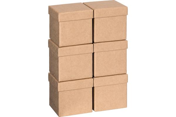 STEWO Geschenkbox 13.5x13.5x12.5cm 255164489 hellbraun One Colour