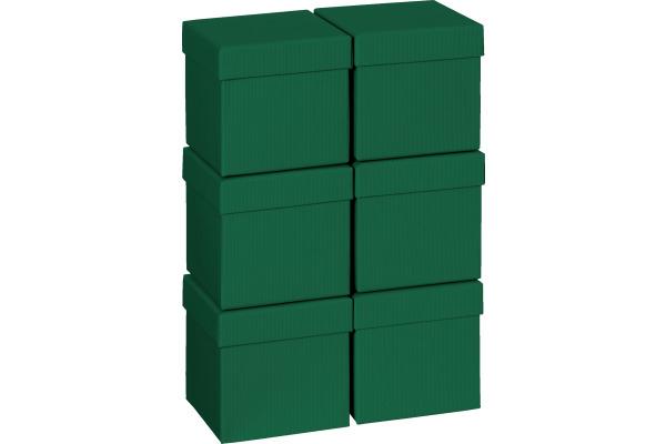STEWO Geschenkbox 13.5x13.5x12.5cm 255178269 dunkelgrün One Colour