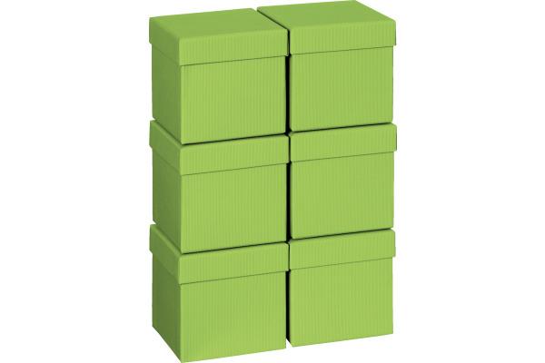 STEWO Geschenkbox 13.5x13.5x12.5cm 255178289 hellgrün One Colour