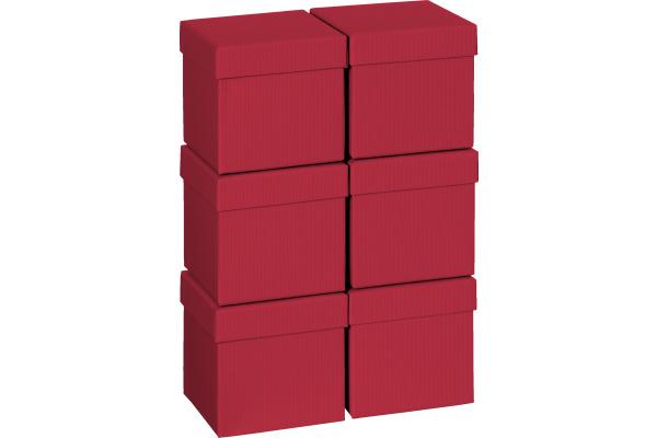 STEWO Geschenkbox 13.5x13.5x12.5cm 255178429 dunkelrot One Colour