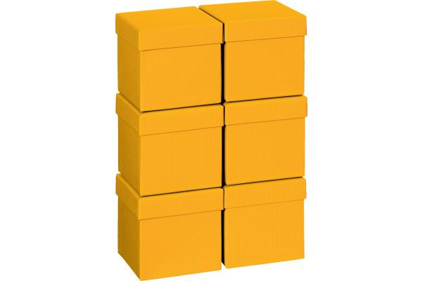 STEWO Geschenkbox 13.5x13.5x12.5cm 255178459 dunkelorange One Colour