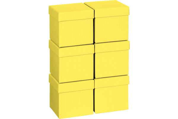 STEWO Geschenkbox 13.5x13.5x12.5cm 255178559 gelb One Colour