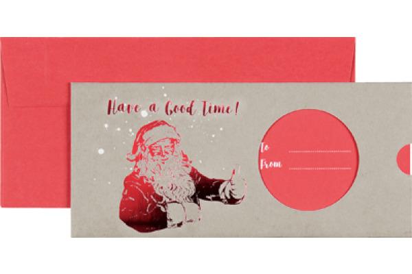 STEWO Geschenkkarte Mason 258163642 11x23cm dunkelrot