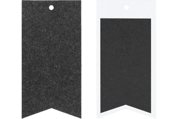 STEWO Geschenkanhänger One Colour 258178227 schwarz