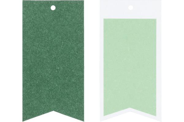STEWO Geschenkanhänger One Colour 258178264 dunkelgrün