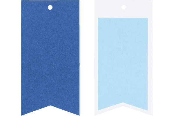 STEWO Geschenkanhänger One Colour 258178294 dunkelblau