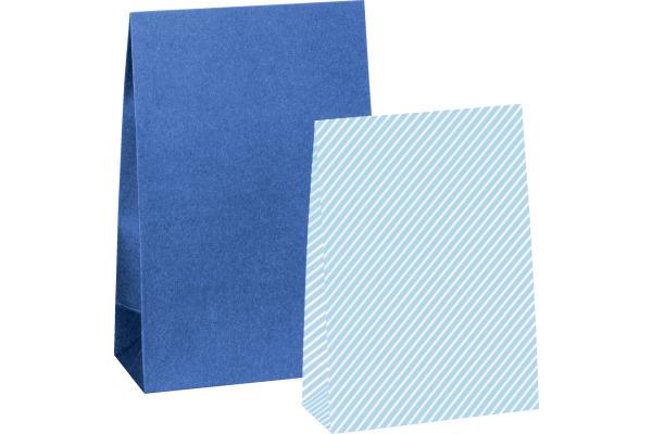 STEWO Geschenkbeutel One Colour 258178299 12.5x6.5x19cm dunkelblau
